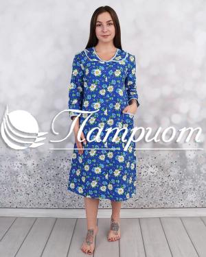 Платье женское фланель мысом
